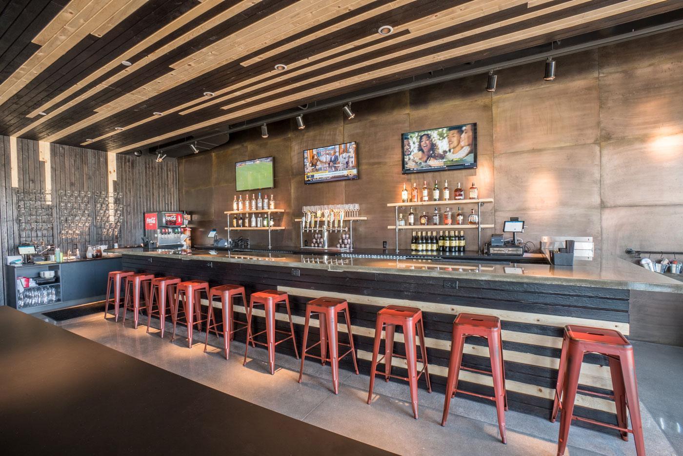 Charred - Bar Interior