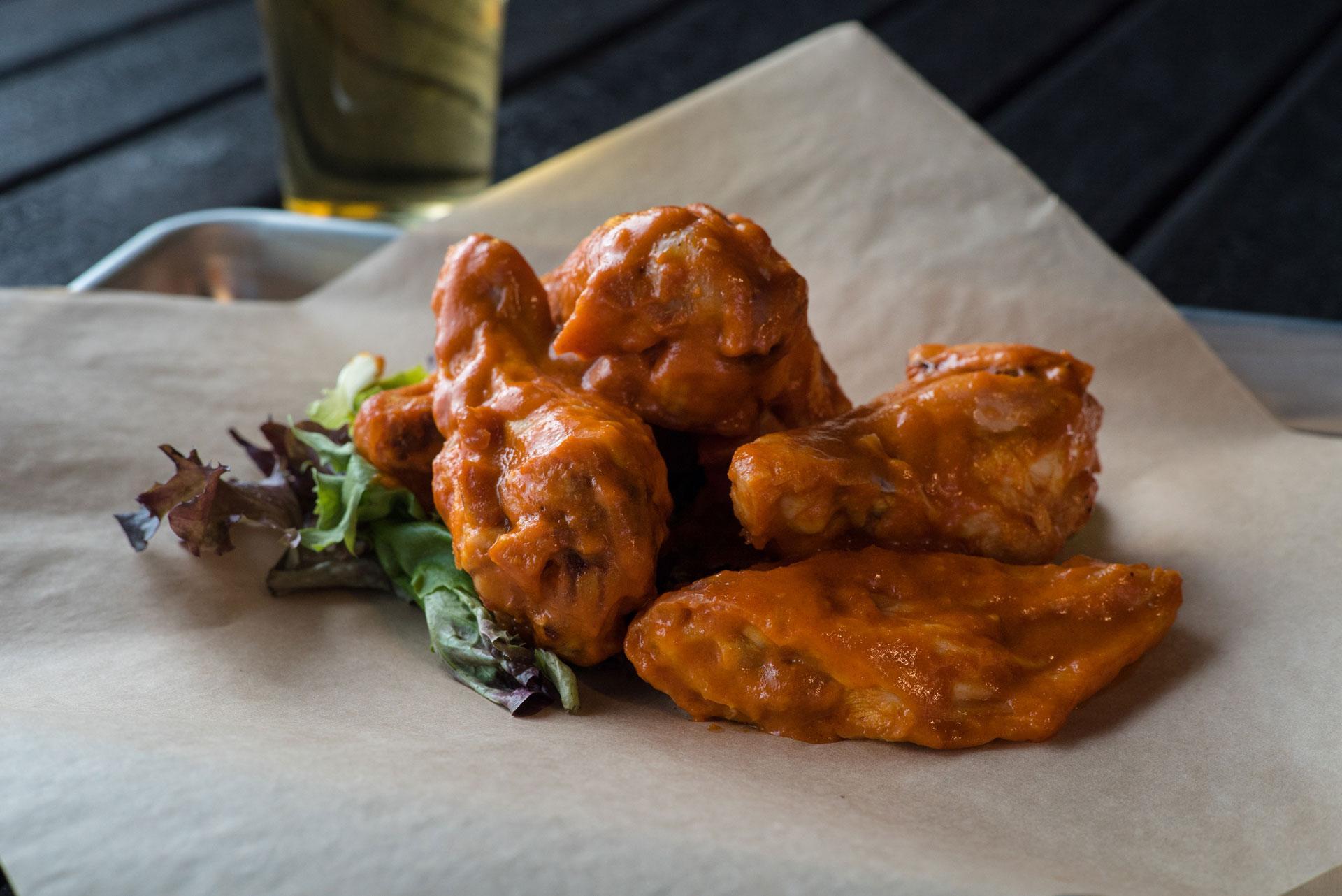 Charred - Chicken Wings - Sriracha Buffalo